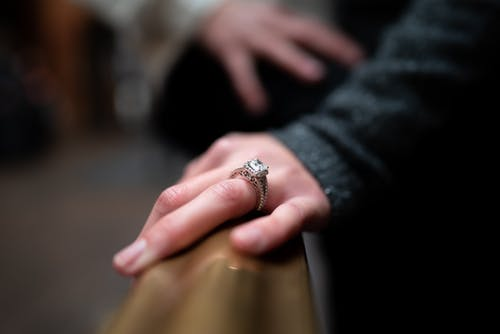 Person Wearing A Ring