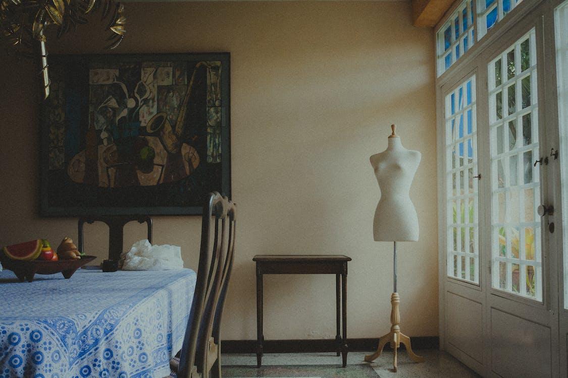 假人模特兒, 形狀, 房間