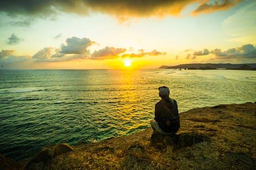 Ilmainen kuvapankkikuva tunnisteilla auringonlasku, indonesia, jyrkänne, luonto