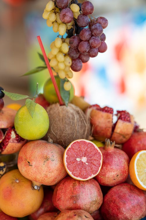 Selective Focus Photography of Variety of Fruits