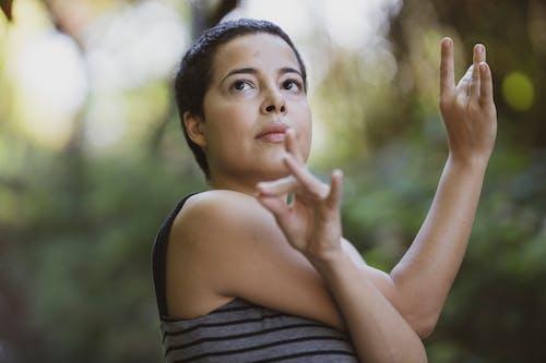 Woman Doing Yago Position
