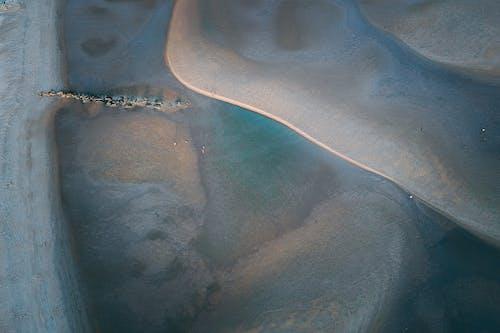 사막의 드론 영상