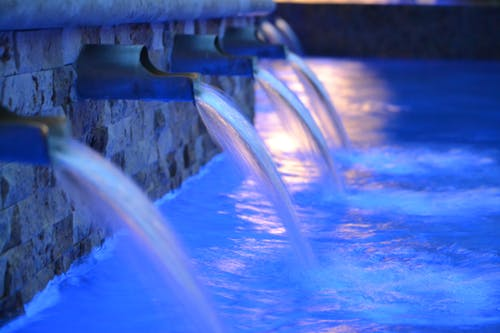 Free stock photo of blue, water