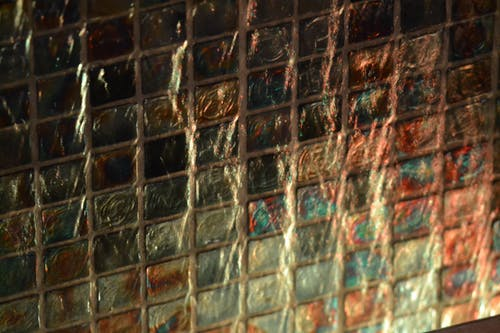 Free stock photo of led, light, stained glass, tile