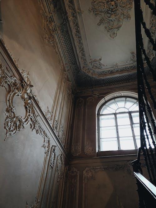 Ingyenes stockfotó elhagyatott, építészet, Oroszország, részletek témában