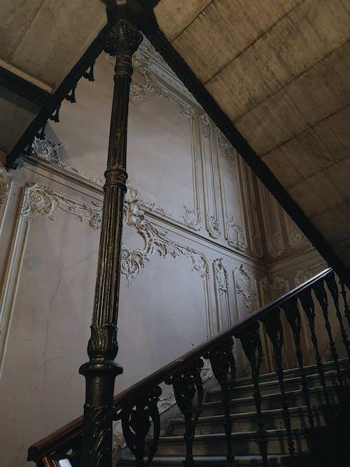 Ingyenes stockfotó építészet, lépcső, márvány témában