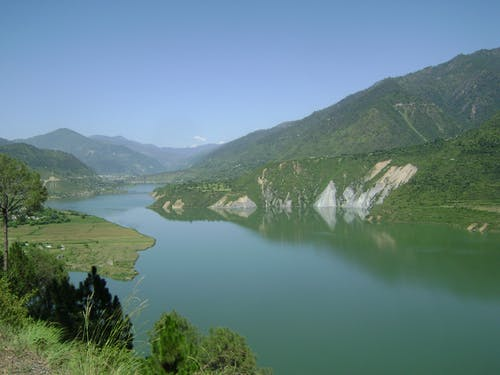 Free stock photo of tehri dam