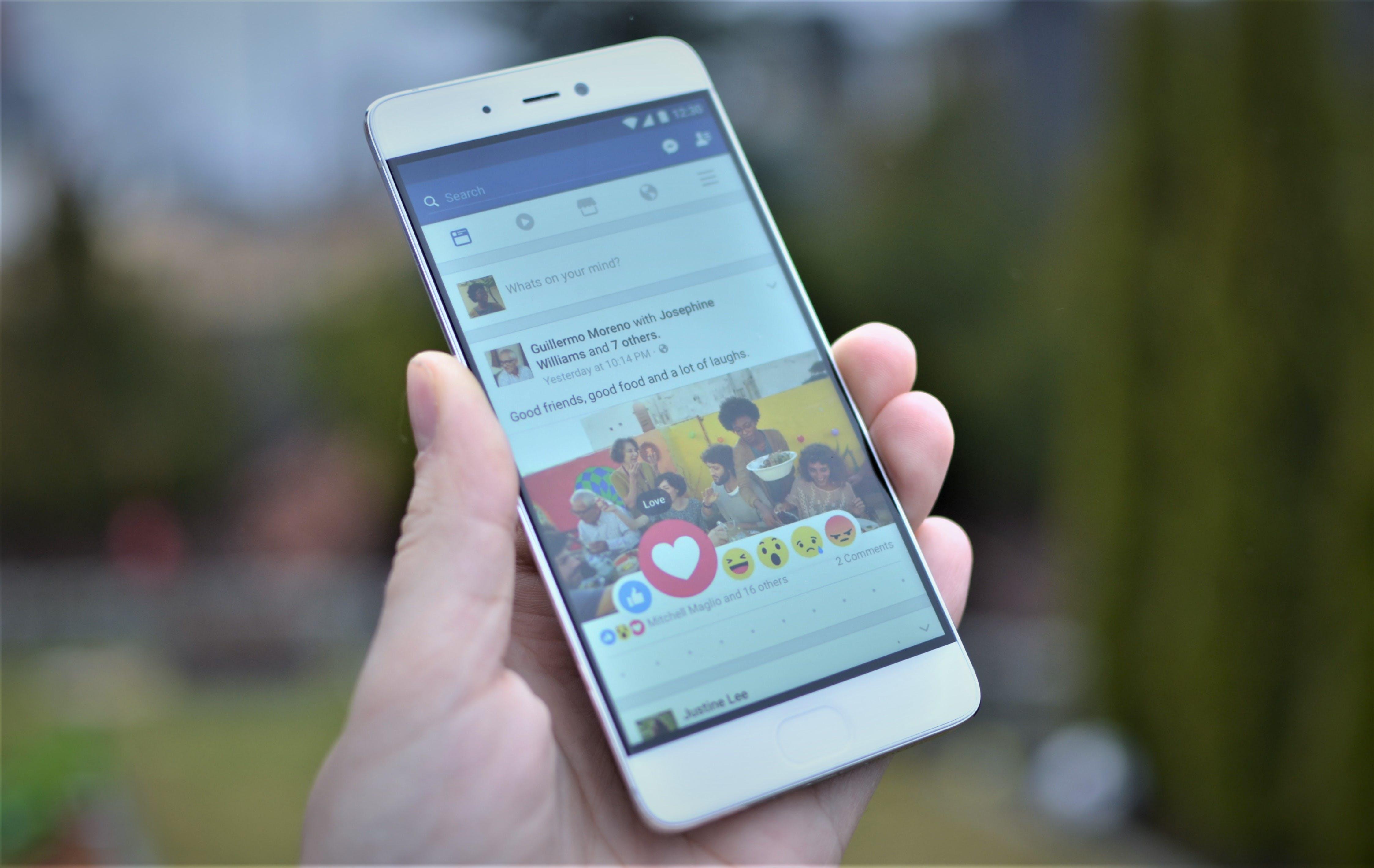 Free stock photo of facebook, like, Mi, mobile