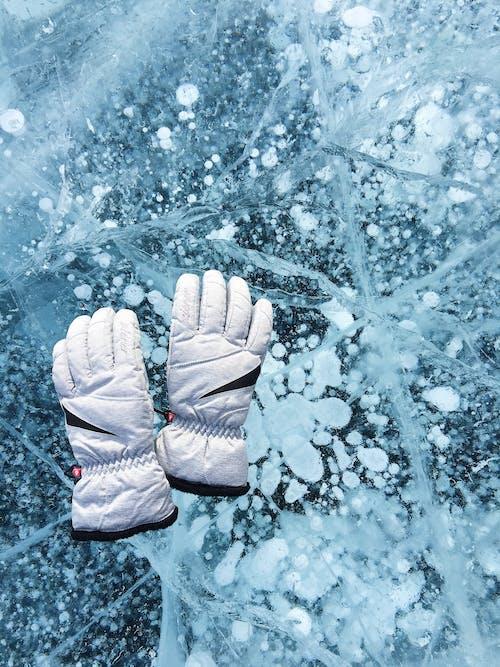 คลังภาพถ่ายฟรี ของ การแช่แข็ง, ถุงมือ, น้ำค้างแข็ง, น้ำแข็ง
