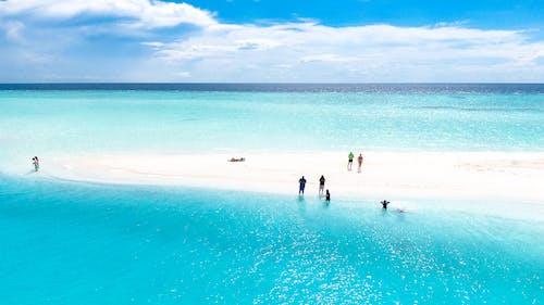 Δωρεάν στοκ φωτογραφιών με άμμος, αργία, γαλαζοπράσινος, διακοπές