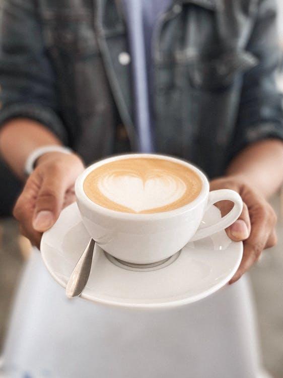 cappuccino, csésze, csészealj