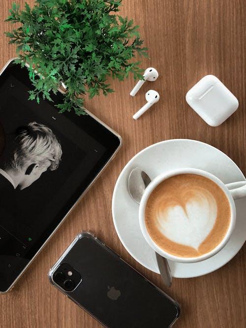Immagine gratuita di bevanda, caffè, caffeina, cappuccino