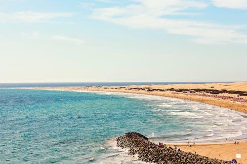 Imagine de stoc gratuită din apă, cer, coastă, face cu mâna