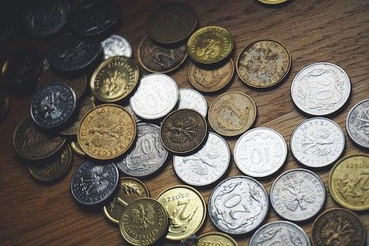 Kostenloses Stock Foto zu metall, business, geld, münzen