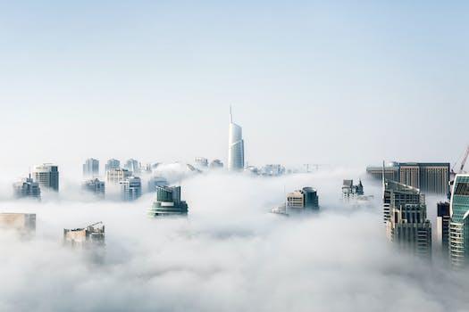 Vista del paisaje urbano