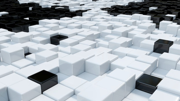 Free stock photo of cubes, 3d