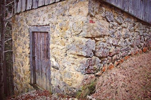 Ingyenes stockfotó fal, kőfalak, kunyhó témában