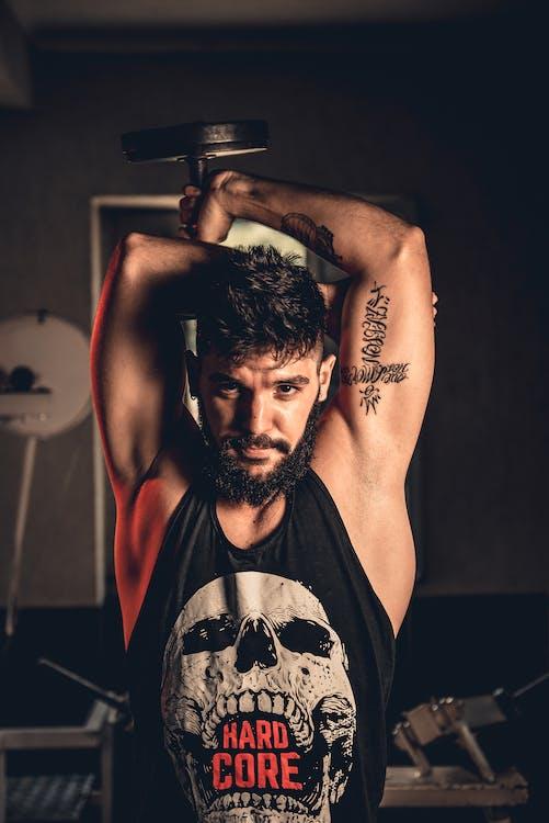 Imagine de stoc gratuită din barbă, biceps, căutare