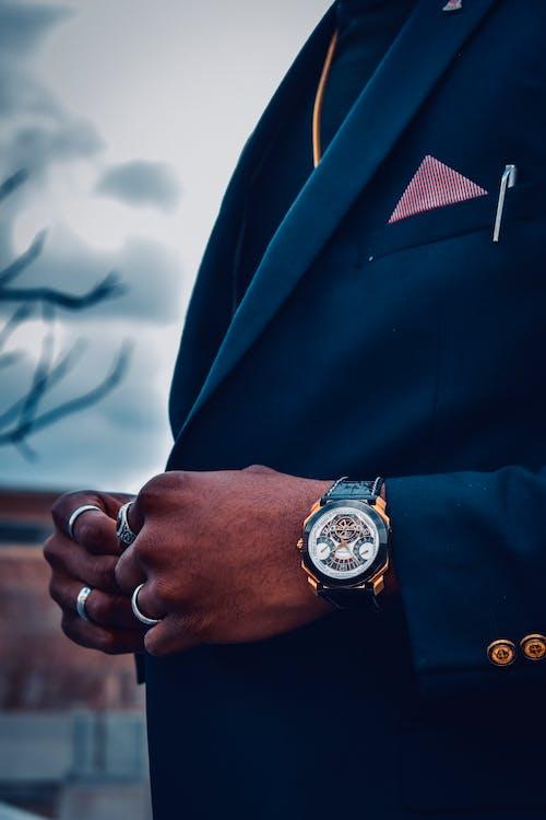 Kostnadsfri bild av arbete, armbandsur, elegant, företag