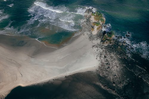 Aerial Photo of Sea