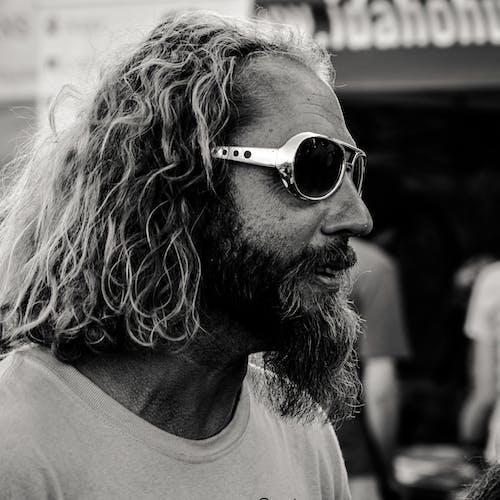 Photos gratuites de barbe, homme, homme barbu, lunettes de soleil