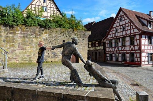 Základová fotografie zdarma na téma domy, kompozice, malé město, Německo