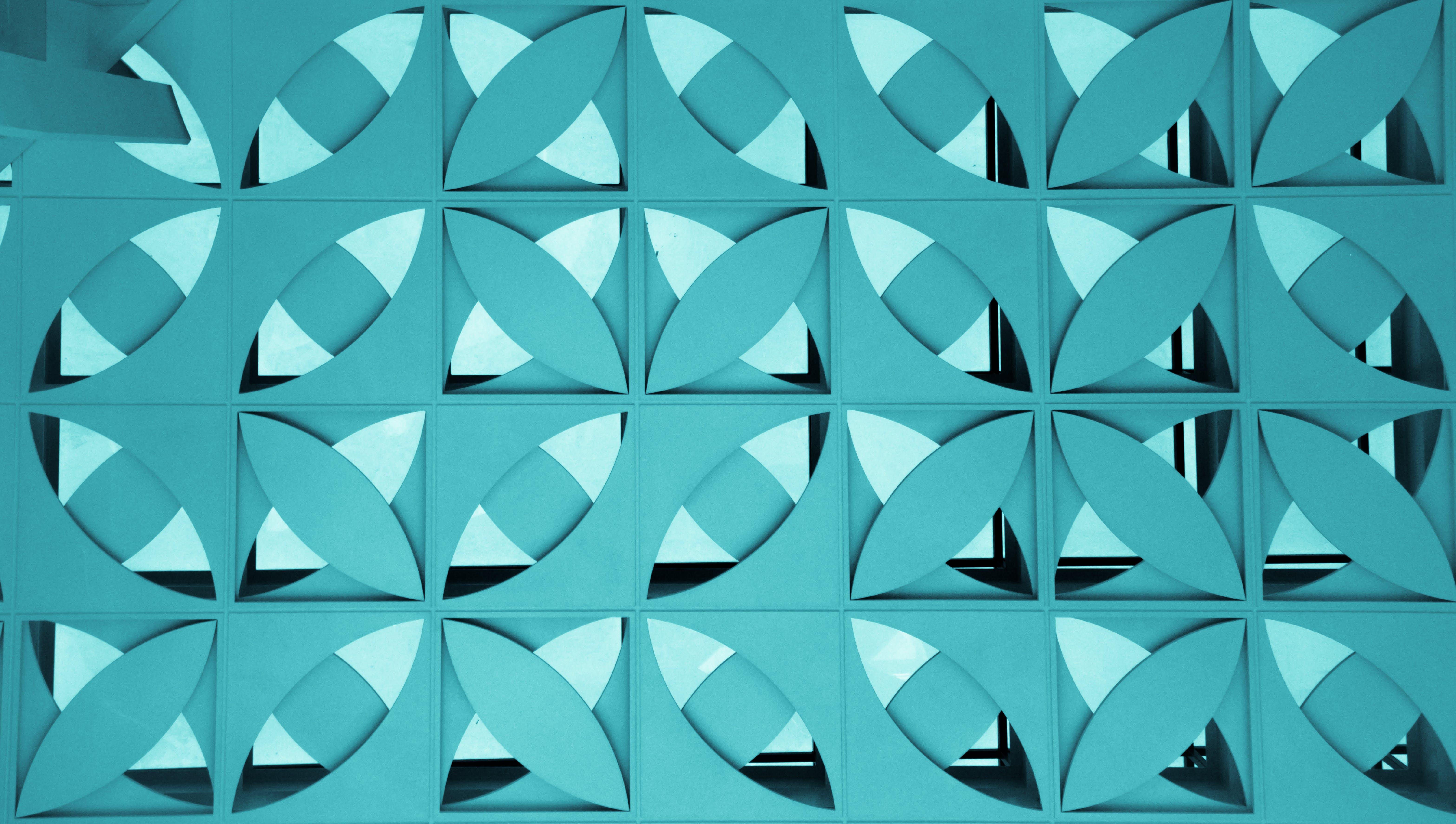 Kostenloses Stock Foto zu abbildung, abstrakt, blau, dekoration
