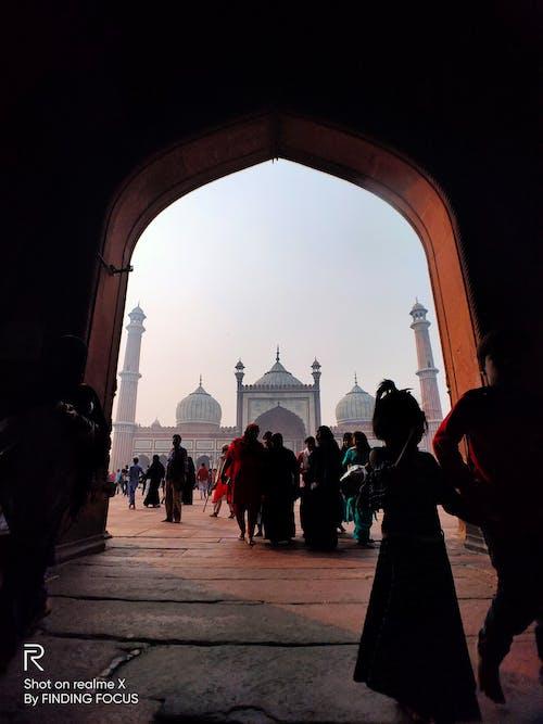 Бесплатное стоковое фото с Архитектурное проектирование, индия, искренний, исламская архитектура