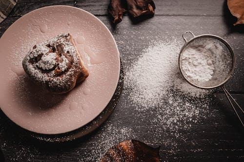 Baked Bread Platter on Tabletop