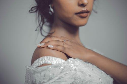 優雅, 嘴唇, 女人, 新娘 的 免費圖庫相片