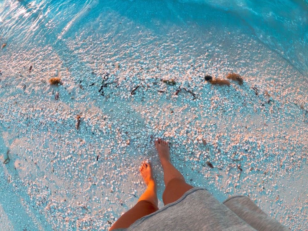 Foto stok gratis air, alam, biru