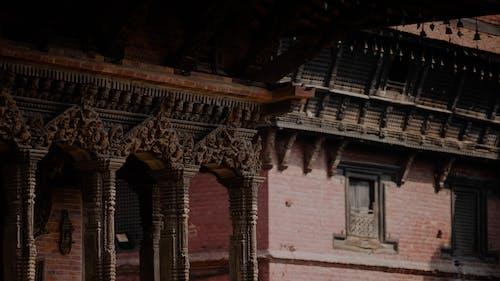 Základová fotografie zdarma na téma architektonický návrh, dědictví, hinduistický chrám, nepál