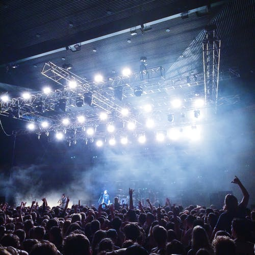 Free stock photo of concert, crowd, music