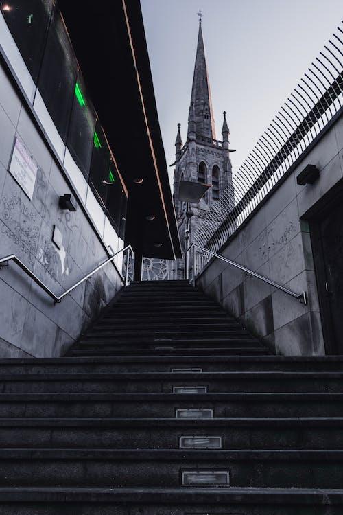 Ingyenes stockfotó építészet, épület, katedrális, lépcső témában