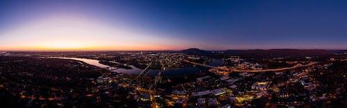 Foto profissional grátis de alvorecer, arquitetura, cair da noite, cidade