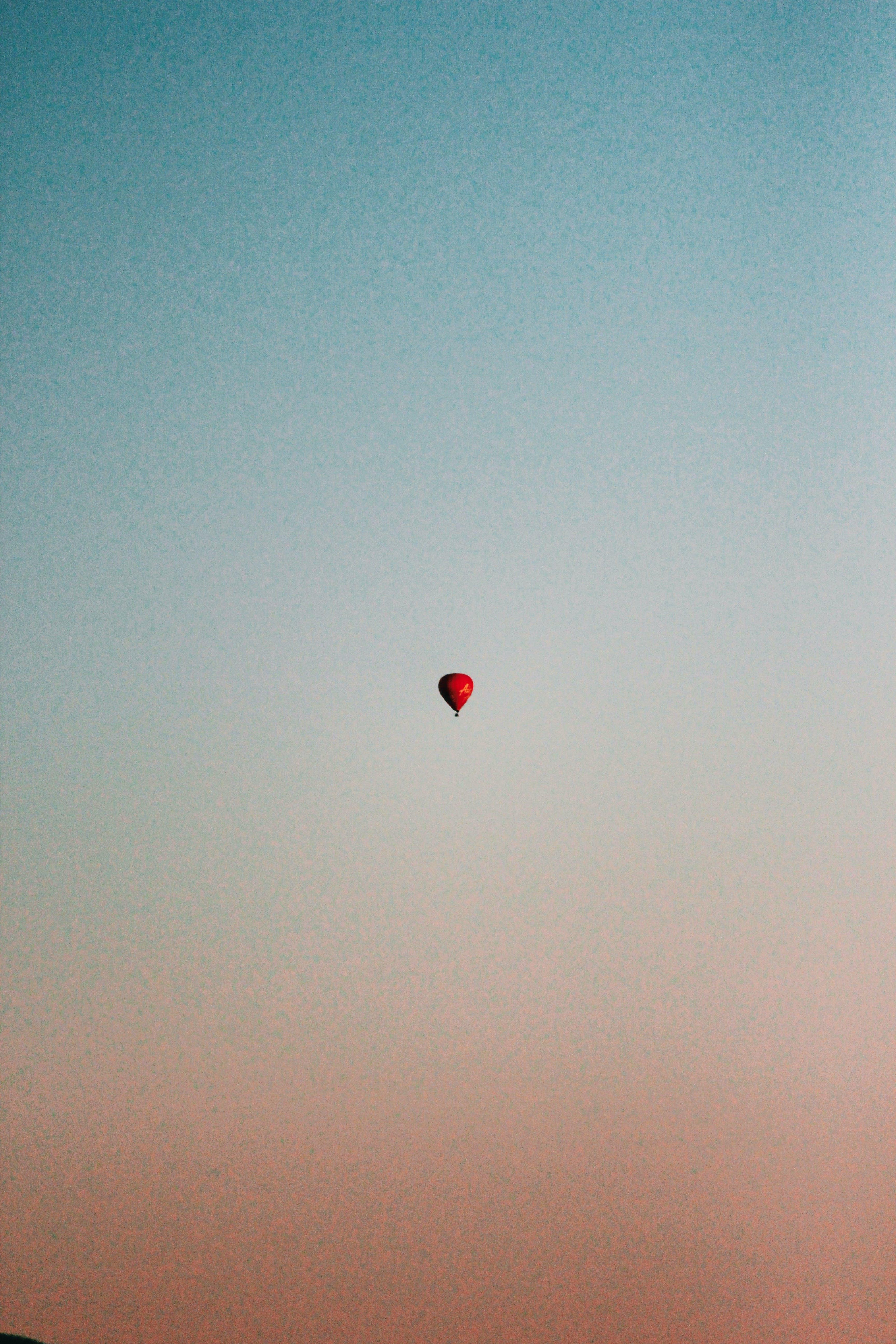 abenteuer, ballon, erholung