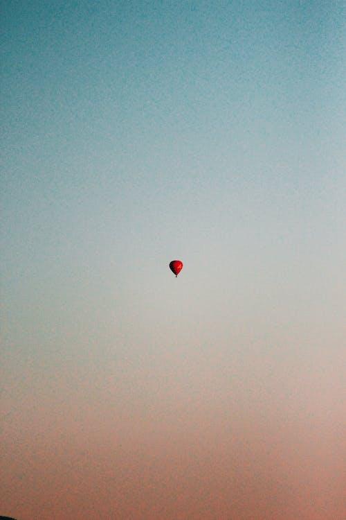 αερόστατο, αναψυχή, δύση του ηλίου