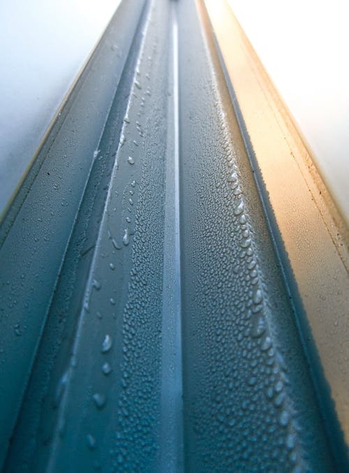 Selective Focus Photo of Water Droplets