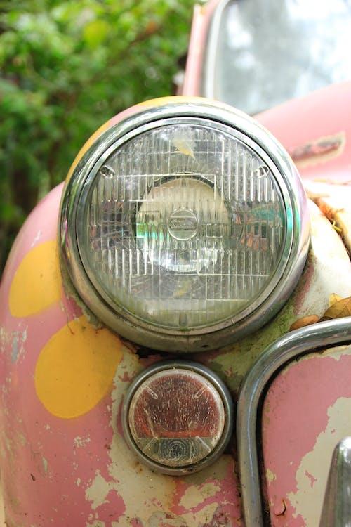 Бесплатное стоковое фото с фара автомобиля