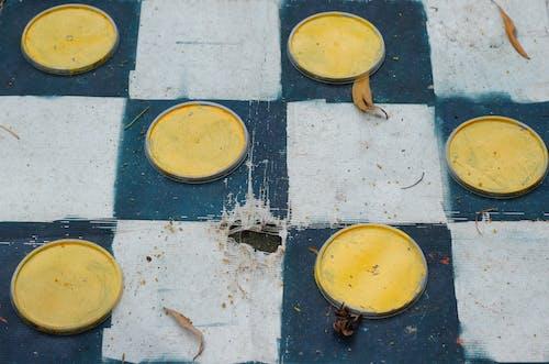 Бесплатное стоковое фото с желтый круг