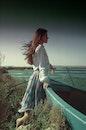 sea, sky, person