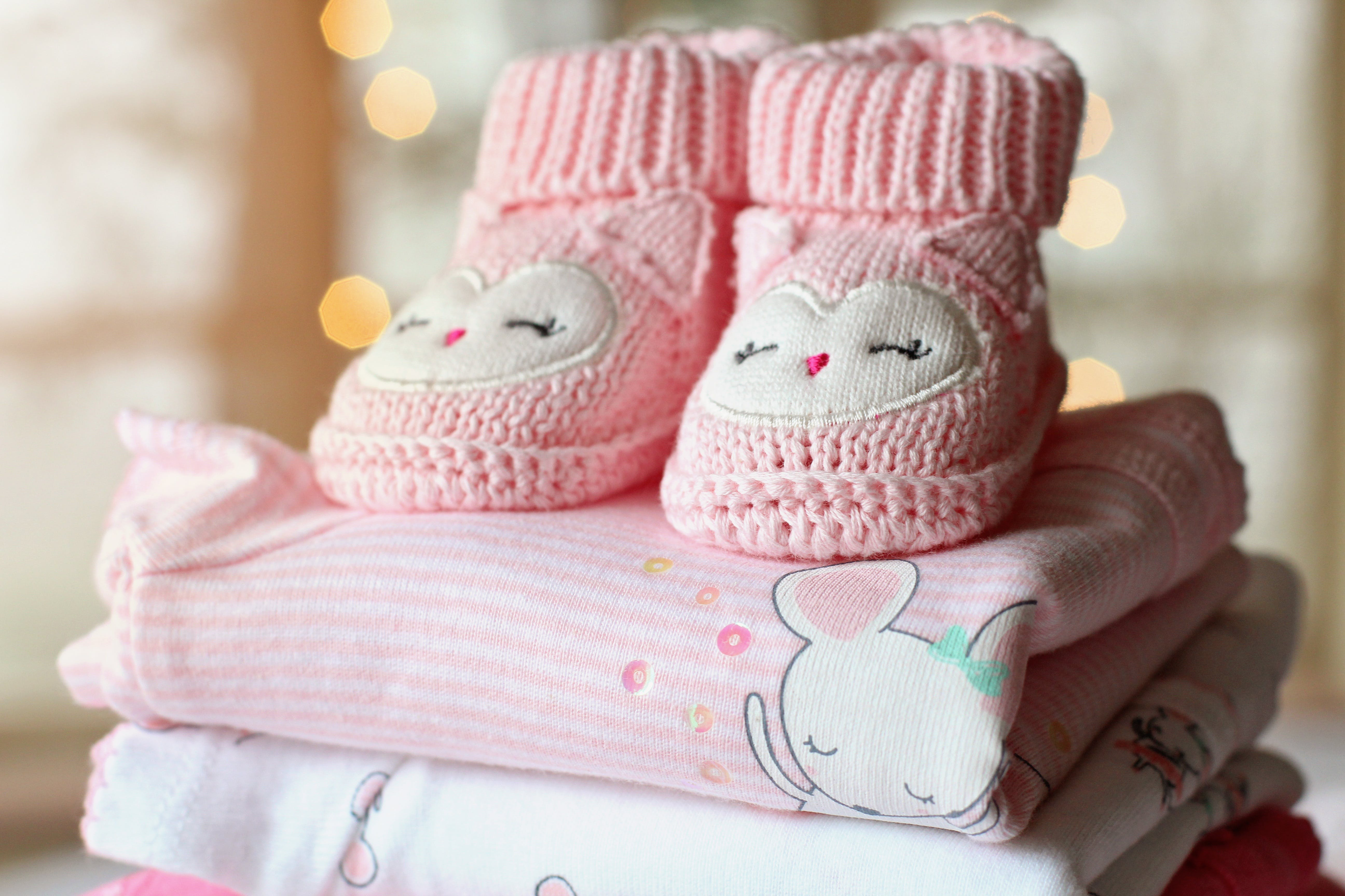 Folded Baby Outfits