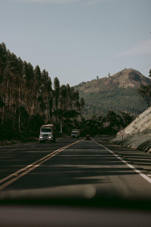 Gratis arkivbilde med asfalt, biltur, hovedvei, kjøretøy