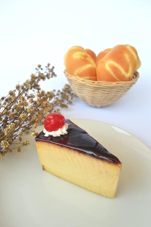 お菓子, ケーキ, チーズケーキ, デザートの無料の写真素材