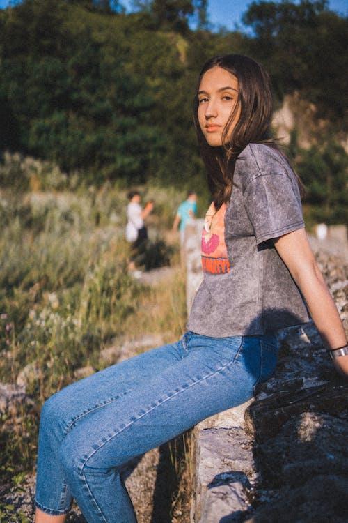 Imagine de stoc gratuită din cereală, fată, model, natură