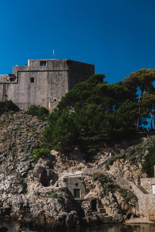 Free stock photo of castle, dubrovnik, old town