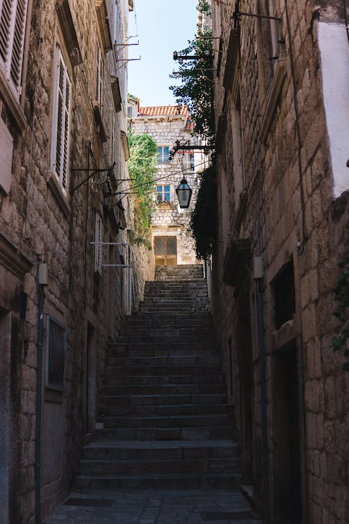 Free stock photo of coridor, dubrovnik, old town