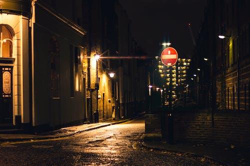 Free stock photo of building, city, city night