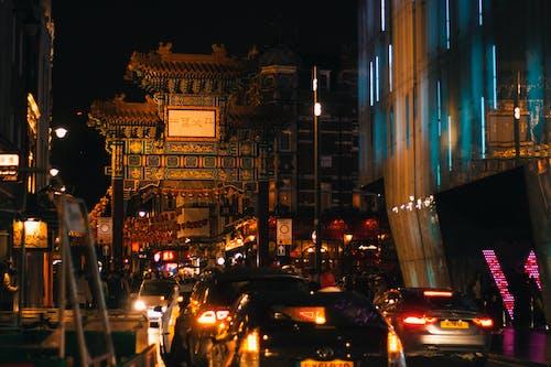 Free stock photo of china, chinatown, city night