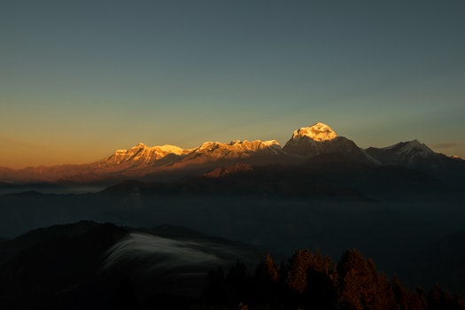 Free stock photo of landscape, countryside, mountain, peak